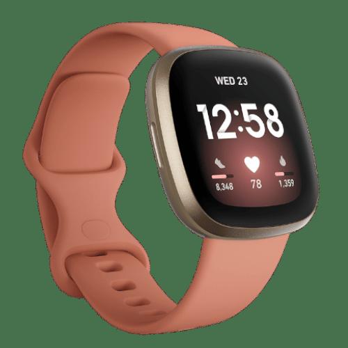 Fitbit Versa 3 - Smartwatch - 2020 - Roze