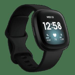 Fitbit Versa 3 - Smartwatch - 2020 - Zwart