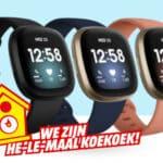 Goedkoopste Fitbit Versa 3 Smartwatch Kopen?