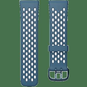 Fitbit Versa 3/Sense Siliconen Bandje Blauw L
