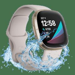 Fitbit Sense - 2020 - Smartwatch - Wit