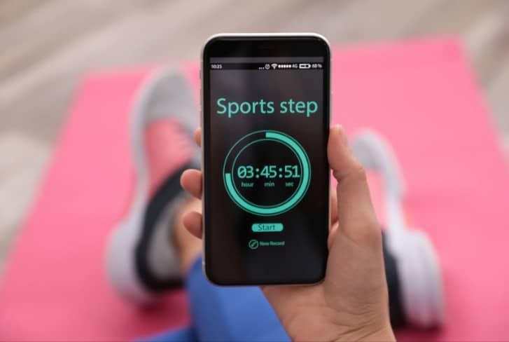 10000 stappen Fitbit