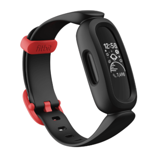Fitbit Ace 3 - Activity tracker voor kinderen - Zwart / Rood - 2021