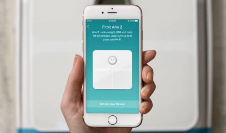 Fitbit Weegschaal Aria Air - smart weegschaal