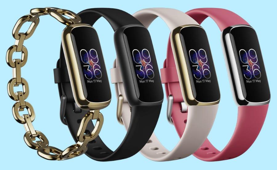 Fitbit Luxe is ook verkrijgbaar in vier looks