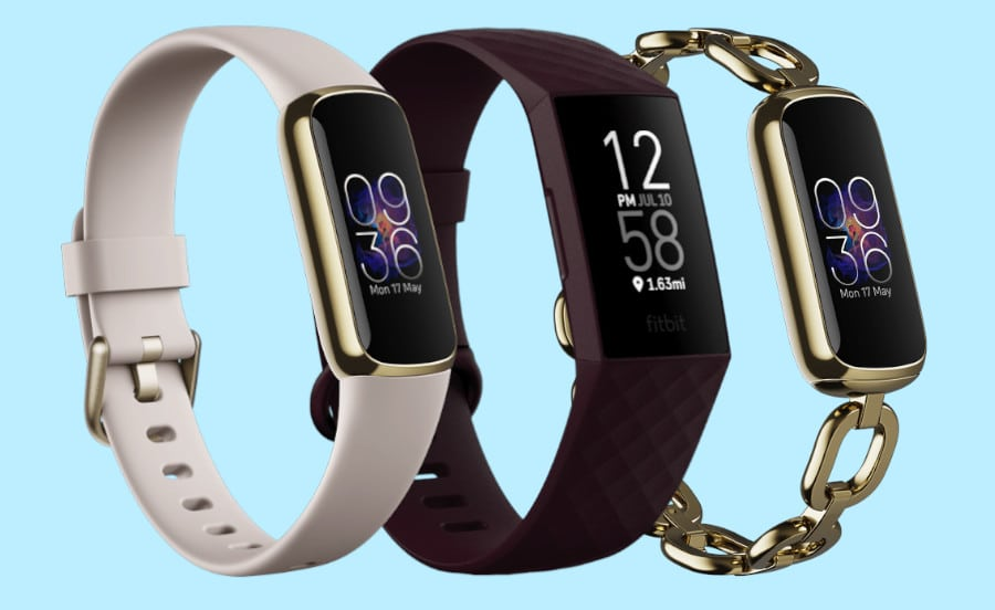 Fitbit Luxe vs Fitbit Charge 4 ontwerp