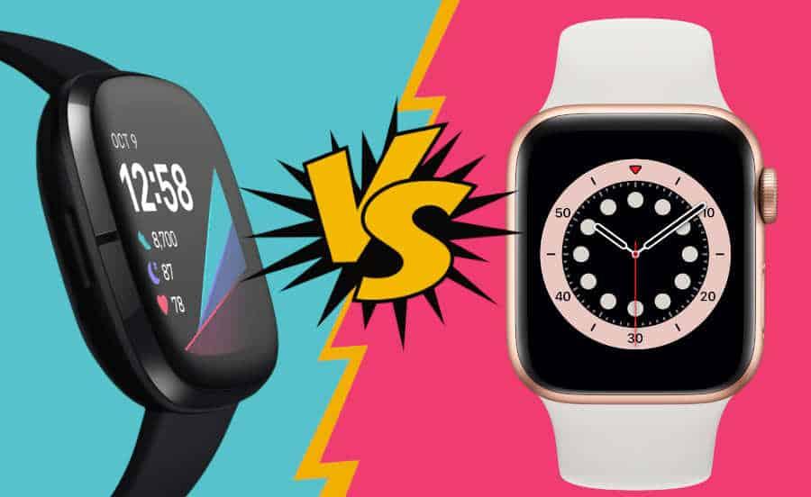 Fitbit Sense vs Apple Watch 6 Welke moet je kopen 2021 vergelijken