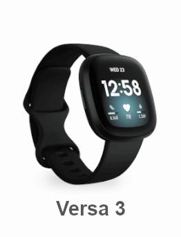Fitbit Versa 3 - Smartwatch - 2020