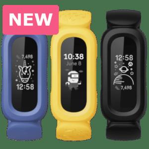 Fitbit Ace 3 - Activity tracker voor kinderen - 2021 - Blauw - Geel - Zwart